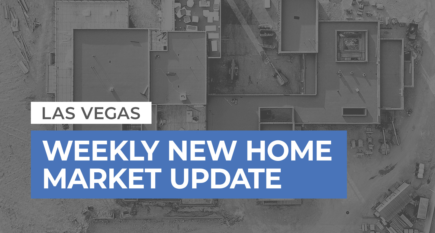 Weekly New Home Update 4/28/19
