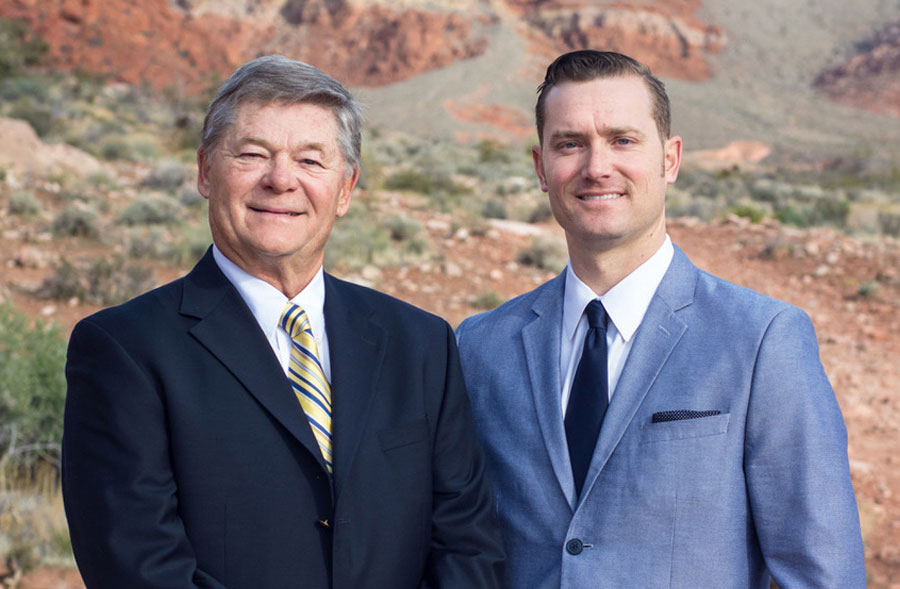 Founder Dennis L. Smith (l), President Andrew Smith (r)