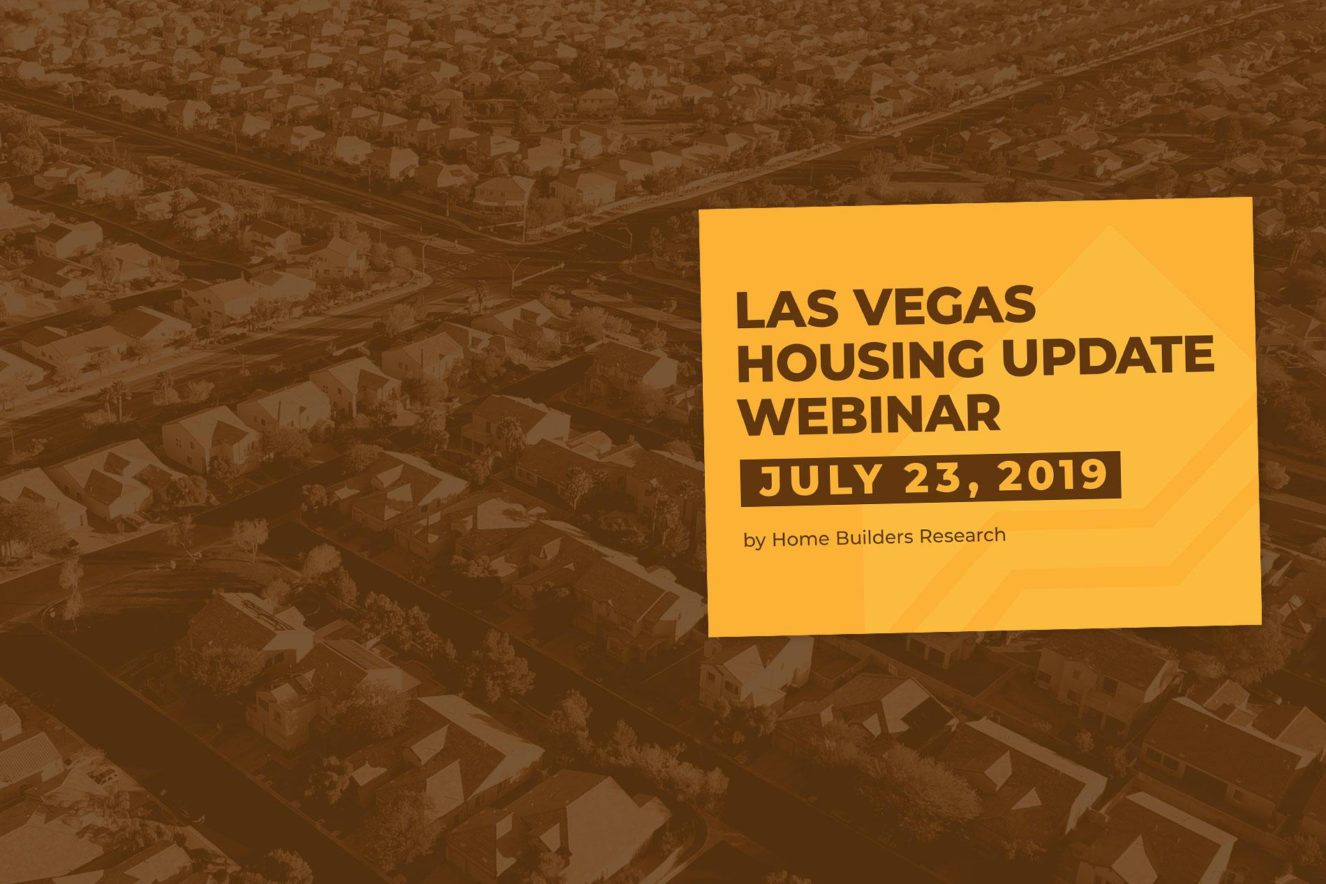 Las Vegas Housing Update Webinar