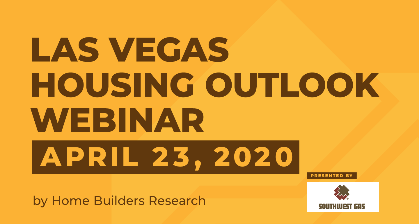 2020 Las Vegas Housing Outlook Presentation Slides