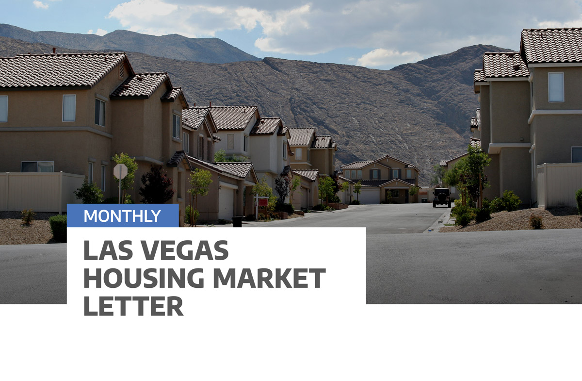 Las Vegas Housing Market Letter