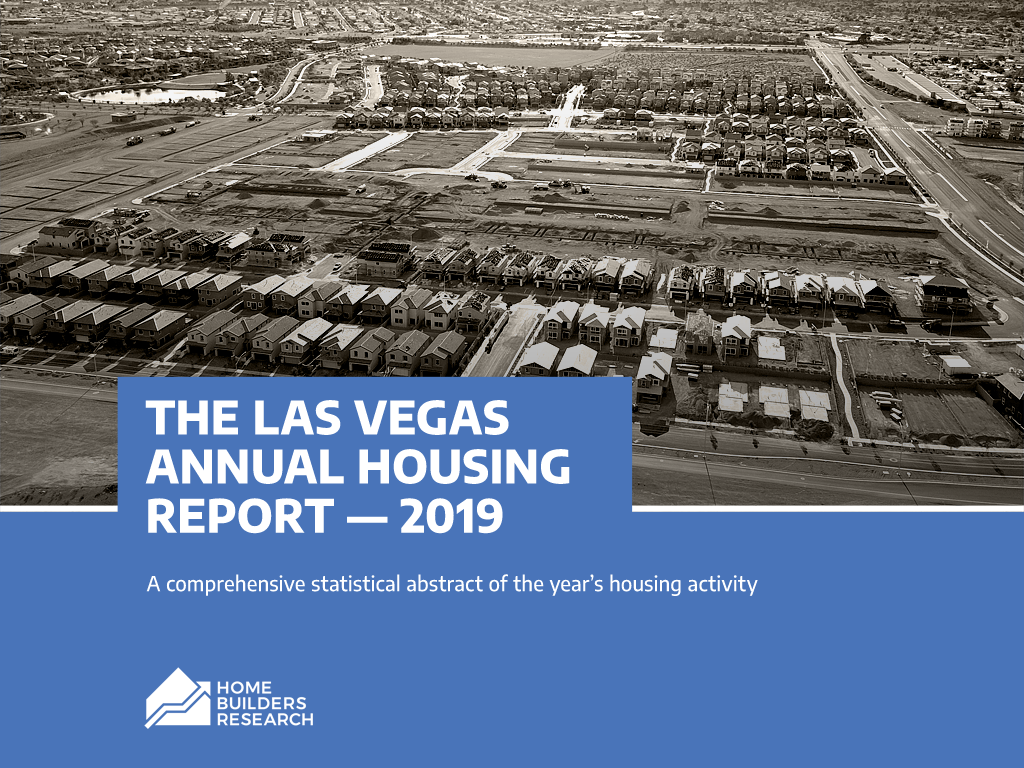 THE LAS VEGAS ANNUAL HOUSING REPORT - 2019